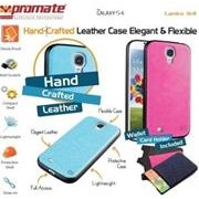 Promate Lanko.S4-Hand-Crafted Leather Case,