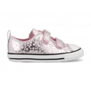Converse All Stars Chuck Taylor 769706C Zilver / Roze -23 maat 23