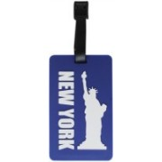 Tootpado Luggage Tag New York - Blue (6LNT69) - Bag Travel Tags Luggage Tag(Blue)