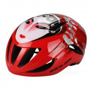 GUB F20 beijing opera modelo mascara casco integrado - blanco + rojo
