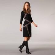 Yest-klänning, svart (Stl: S, )