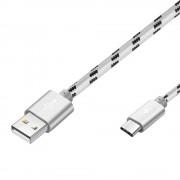 1M USB Type C Braided Nylon Data Charging Cable