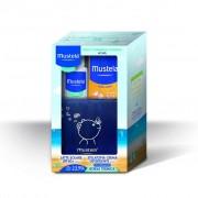 Mustela Kit Estate Pelle Atopica - Latte solare SPF 50+ e Stelatopia Crema Detergente