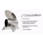 ELICA ACCIAIO INOX EVINRUDE RAKER E-TEC 14 1/2 X 24 V6