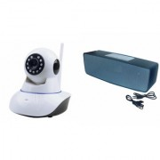 Mirza Wifi CCTV Camera and Box-2 Bluetooth Speaker for SAMSUNG GALAXY S7 EDGE(Wifi CCTV Camera with night vision |Box-2 Bluetooth Speaker)