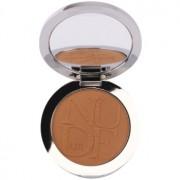 Dior Diorskin Nude Air Tan Powder polvos bronceadores para un aspecto saludable con pincel tono 002 Ambre/Amber 10 g