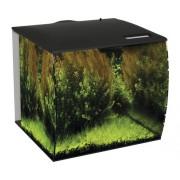 Set acvariu Fluval Flex, 57 L, cu iluminare LED, filtru, pompa, fara dulap inferior inclus, negru