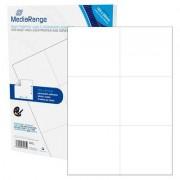 """Etiquetas Adesivas Permanentes Mediarange - 105 x 99mm (300 un)"""