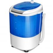 Costway Mini Lavadora con Secadora Compacta Duradera y de Ahorro Energético Azul 36 x 34 x 51 cm