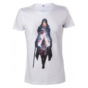 Tricou Assassins Creed Syndicate Evie Frye White M