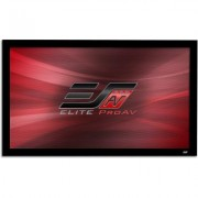 "Elite Screens Pro Acoustic 100"""" Permanently Tensioned Fixed Frame Acoustically Transparent Screen"