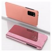 Para Samsung Galaxy S20 FE 5G Funda de espejo plateada