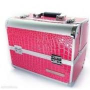 Geanta medie roz pentru manechiura