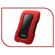 Жесткий диск A-Data DashDrive Durable HD330 1Tb Red AHD330-1TU31-CRD