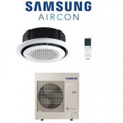 Samsung Climatizzatore Condizionatore Inverter Samsung Cassetta 360° 30000 Btu 9 Kw Ac090mn4pkh A++/a+ Con Comando Wireless (Area Occasioni)