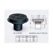 Sifon Kessel 48504, Parking deck drains, round diametru 125