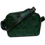 Geanta Matrix Code Black Messenger Bag