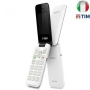 "Alcatel Smartphone Alcatel 2051X 2.4"" 97g Nero, Bianco"