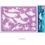 Sablon 16 animale oceanice