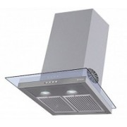 Faber Glassy Hood 3d T2S2 LTW 60 Wall Mounted Chimney(Stainless Steel 1095 CMH)