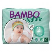 BAMBO NATURE 2 Mini - 3 à 6 kg - 30 langes