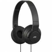 JVC HAS180 Powerful Bass Headphones - слушалки за смартфони и мобилни устройства (черен)