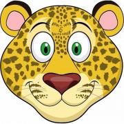 Shoppartners Luipaard maskertjes voor kinderen