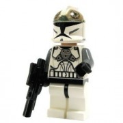 Lego Star Wars Mini Figure - Clone Gunner with Blaster (Approximately 45mm /