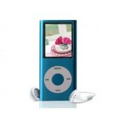 Mini MP3 MP4 Player Radio cu afisaj digital 32GB, culoare Albastru