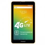 Таблет Prestigio Wize 3437 (Жълт), LTE, 7 инча (17.78 cm) IPS дисплей, четириядрен 1.3GHZ, 1GB RAM, PMT3437_4G_C_YL_BG