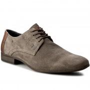Обувки LASOCKI FOR MEN - MI07-C278-233-02 Сив