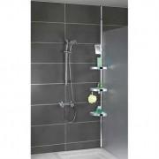 Etagère de douche télescopique inox