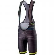 Castelli Tabula Rasa Bib Shorts - M - Black/Yellow Fluo