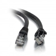 C2G 3m Cat5e Booted Unshielded (UTP) Network Patch Cable - Black