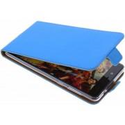 Selencia Luxe Softcase Flipcase Nokia 8 hoesje - Blauw