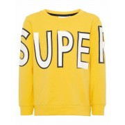 Name It! Jongens Sweater - Maat 86 - Geel - Katoen/elasthan