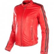 Helstons Motorradjacke, Motorradschutzjacke Helstons Angel Rag Damen Lederjacke rot L rot