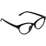 Aligatorr Stylish Cat Eye Spectacle Frame and UV400 Sunglass