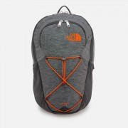 The North Face Rodey Backpack - TNF Dark Grey Heather/Persian Orange