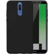 Protectie spate Senno Pure Flex Slim Mate TPU pentru Huawei Mate 10 Lite (Negru)