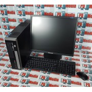 """Kit Calculator Viglen Genie SFF, Core2Duo E7200 2.53GHz, 4GB DDR2, 160GB, DVD-RW + Monitor 19"""" Grad A Mouse si Tastatura"""