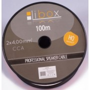 Speaker cable 2x4,00 LB0048 LIBOX