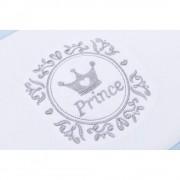 Protectie laterale pentru pat lemn Print Blue Fillikid