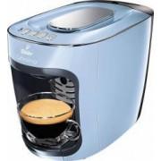 Espressor Tchibo Cafissimo mini Misty Blue 1500 W 3 presiuni 650 ml Espresso Caffe Crema sertar capsule Bleu