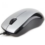 Gembird Mysz OPTO 1-SCROLL USB (MUS-U-002) Silver/Black