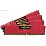 Corsair Vengeance Lpx 32Gb(8Gb x 4) DDR4-3600 (pc4-28800) CL16 1.35v Desktop Memory Module with Red low-profile heatsink