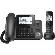 Panasonic KX-TGF380AZM Digital Corded and Cordless Home Phone System at APPLIANCE GIANT