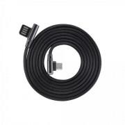 Kabl USB 2.0 na USB-C M/M S-box ugaoni, crna 1.5m
