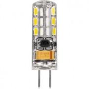 Лампа светодиодная Feron LB-420 G4 2W 12V 6400K 25859
