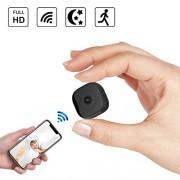 OOLIFENG Mini cámara Oculta, 1080P HD Camaras de Seguridad espia con Vision Nocturna y Detección de Movimiento para Interiores y Exteriores, Oficina, Mascota, Black